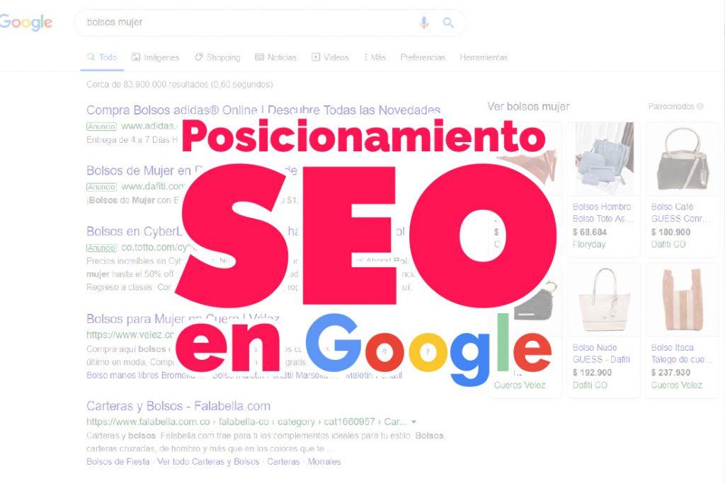 Serviciode posicionamiento en google